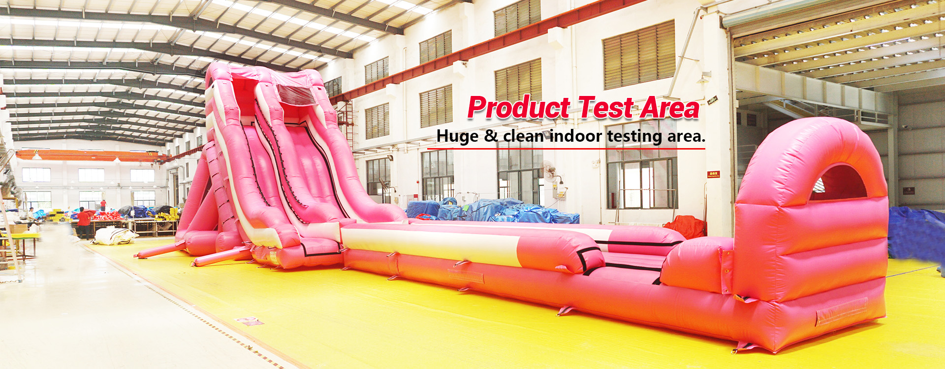 Product Test Area