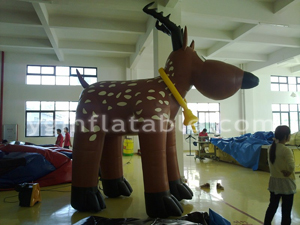 Inflatable moveing Cartoon