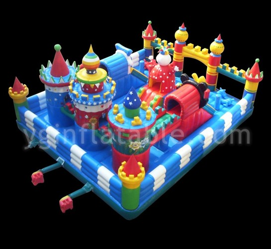 inflatable funland,inflatable playground