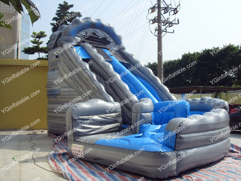 Inflatable water slides clearance