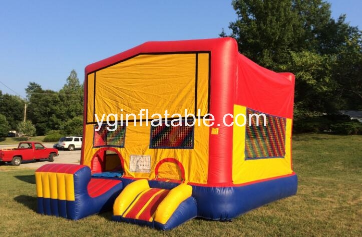 The thematic and funny inflatable bounce house