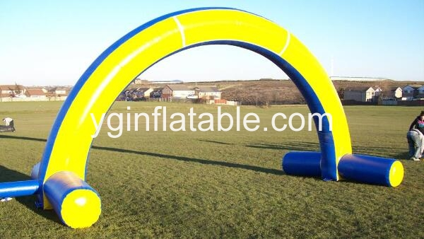 Use an inflatable arch to welcome guests to your event