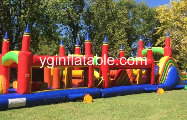 Why should you use the inflatable obstacle courses