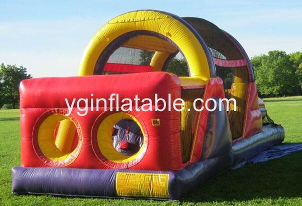 Why inflatable obstacle courses are safe