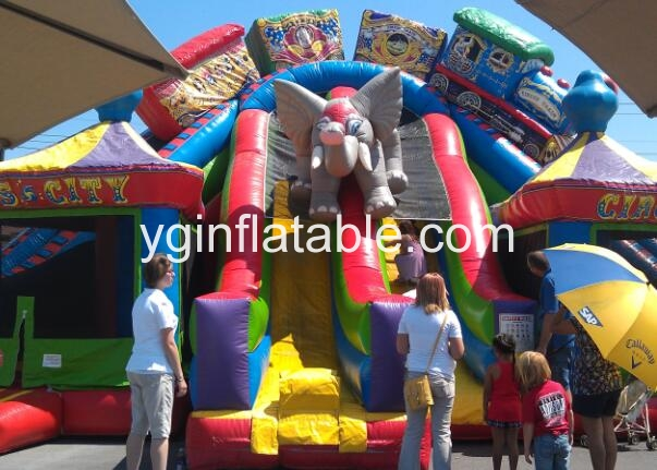Why choose an inflatable fun city