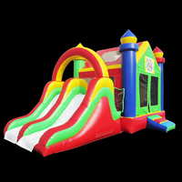 inflatable bouncer slide combo[GB491]