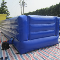 blue inflatable bouncerGB492