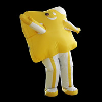 Yellow inflatable move cartoon