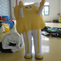 Yellow inflatable move cartoonGC121