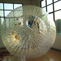 Transparent inflatable grass ballGH072