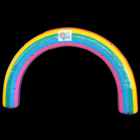 Rainbow Inflatable ArchGA137