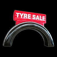 Inflatable Arch Tire Sales
