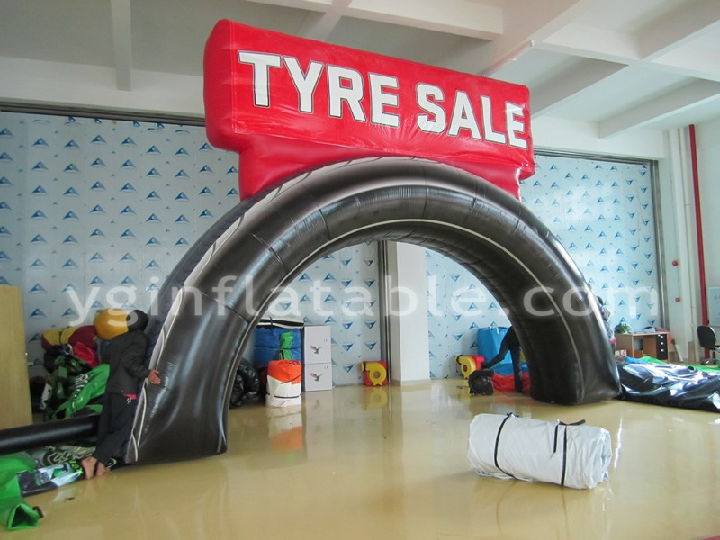 Inflatable Arch Tire SalesGA138