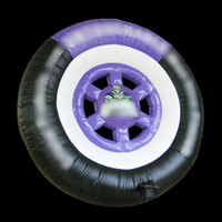 Inflatable Tire Model Advertising