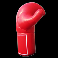 Red Shape Advertising Inflatable Glove