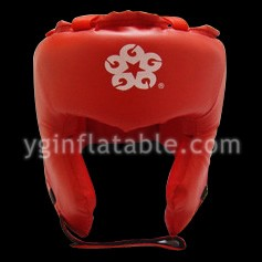 Red PU leather head protectionGK026