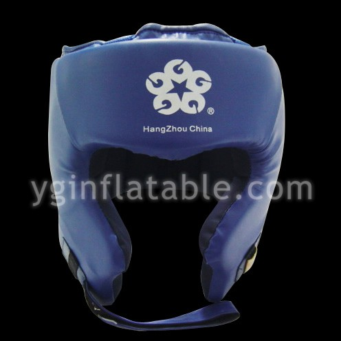 Blue PU leather head protectionGK027