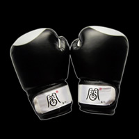 Black boxing glovesGK029
