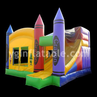 Inflatable Combo bounce houseGB472