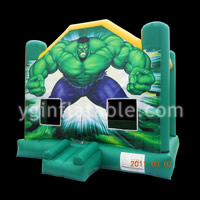 Green Man Inflatable BouncerGB478