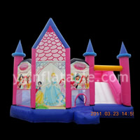Princess Inflatable Combo CastleGB481