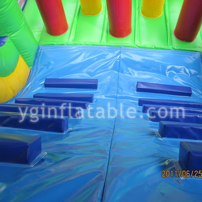 tropical rainforest inflatable obstaclesGE089