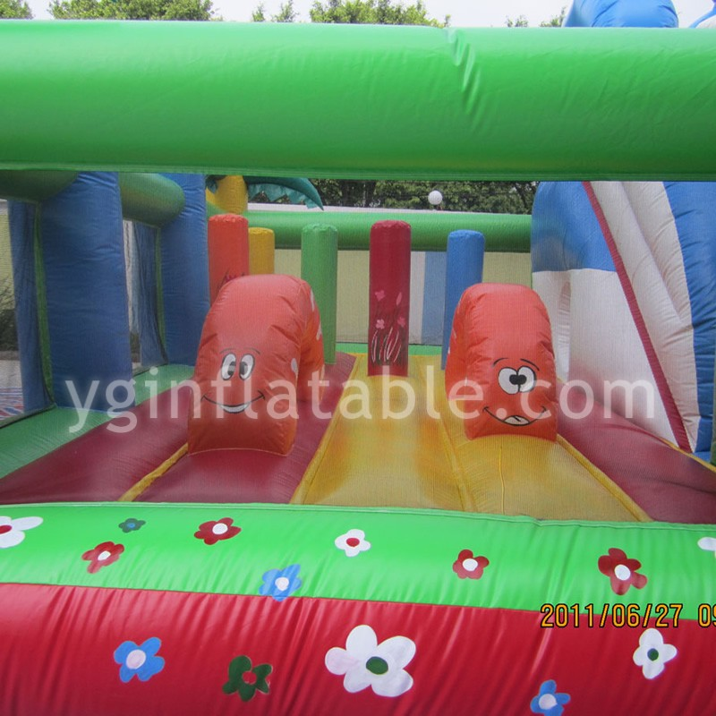 Giraffe Jumpin Bounce House ParkGF092