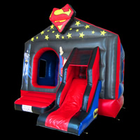 Superman and Batman combination bouncerGB483