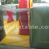 Green Inflatable Sport ObstaclesGE136