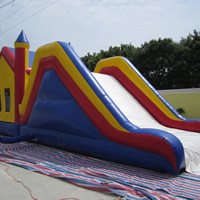 Inflatable castle bouncer combinationGB487