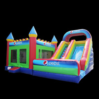 Inflatable Bounce House With Blower