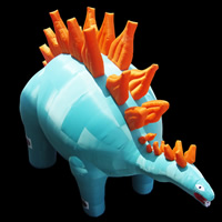 Giant Inflatable Stegosaurus Cartoon[GC119]