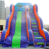 backyard inflatable water slideGI146