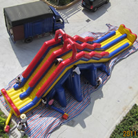 backyard inflatable  slideGI147