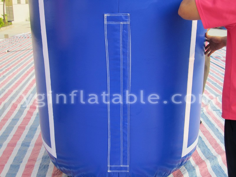 Blue inflatable advertising archGA134