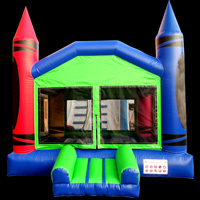 colorful  Crayon Bouncer