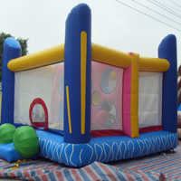 Colorful Fun Happy  inflatable BouncerGB511