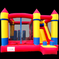 Oxford cloth inflatable bouncer slide