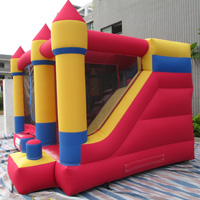 Oxford cloth inflatable bouncer slideGL169