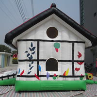 house shape inflatable castleGL003