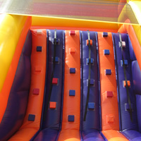 inflatable climing slideGI155