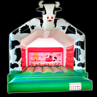 Cows Commercial Grade Bounce House
