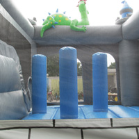 Dinosaur inflatable bounce slideGL168