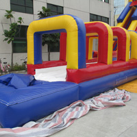 Combination of inflatable water slidesGI162