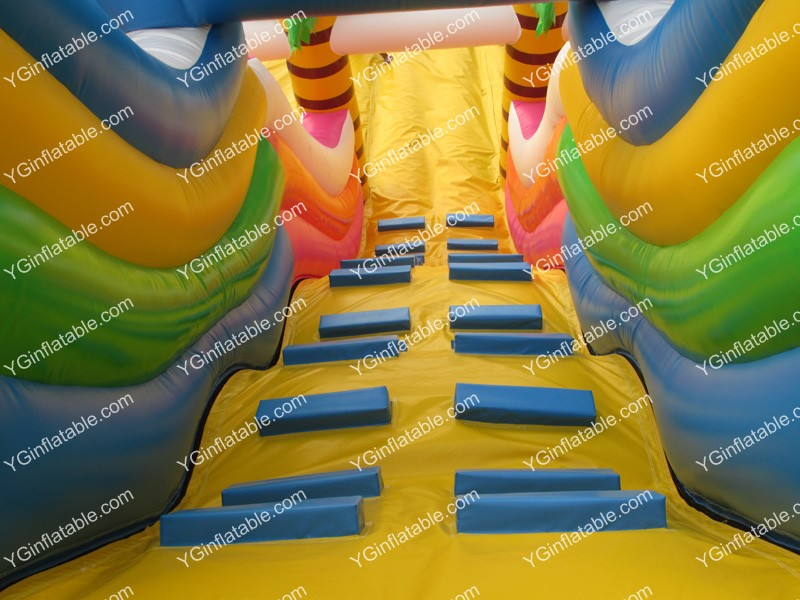 Small dinosaur inflatable slideGI161