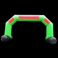 Green Inflatable ArchesGA140