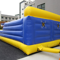 Two runways inflatable sportsGH078