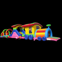 Train Inflatable Obstacle Course