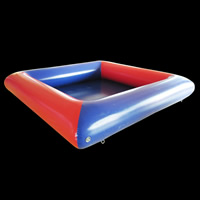 Ball ball inflatable pool
