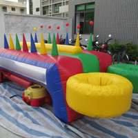 inflatable blow the ball gameGH084